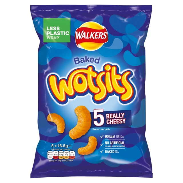 WALKERS 5PACK WOTSITS