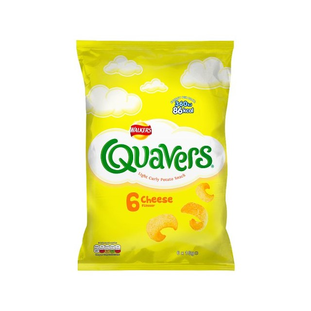 WALKERS QUAVERS (28 x 6 PACK)