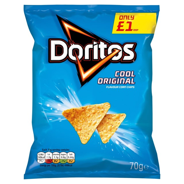 WALKERS DORITOS £1 COOL ORIGINAL