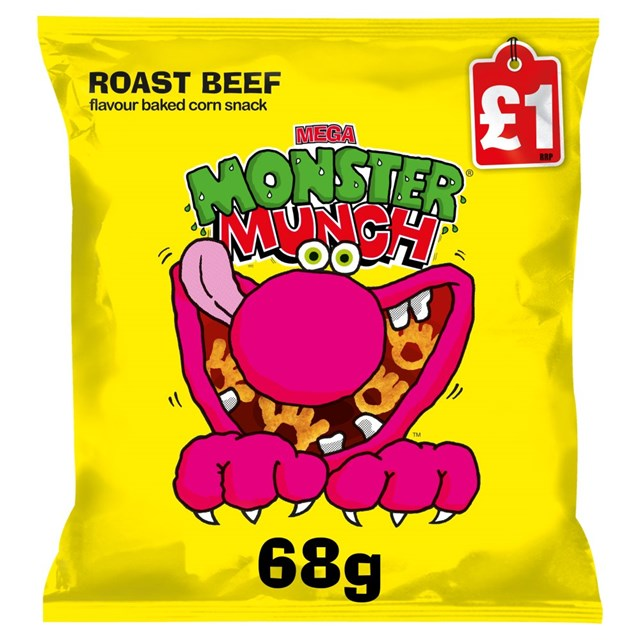 MONSTER MUNCH £1 BEEF