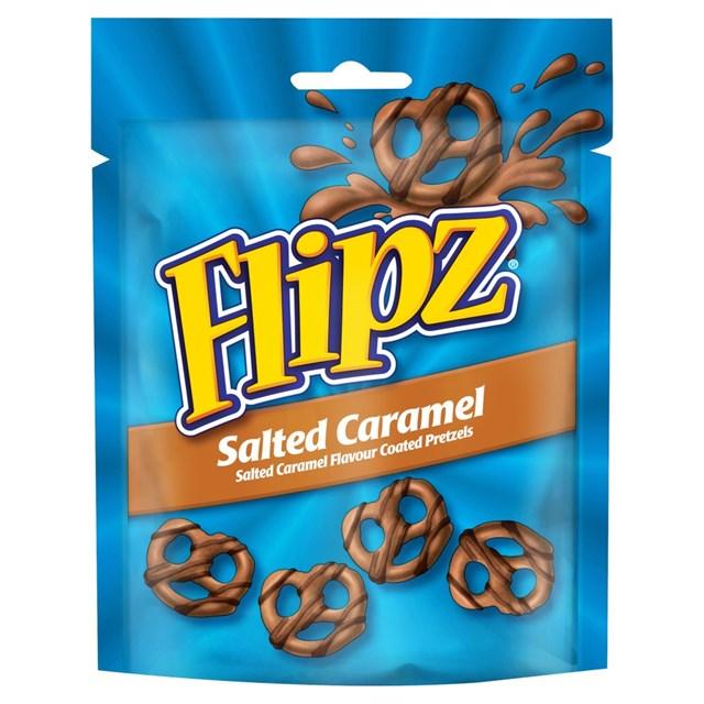 FLIPZ SALTED CARAMEL POUCHES