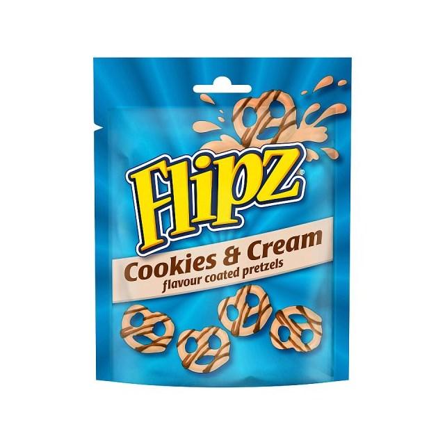 FLIPZ COOKIES AND CREAM 90g (6 PACK)