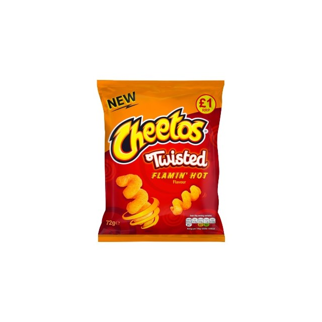 WALKERS £1 CHEETOS TWISTED