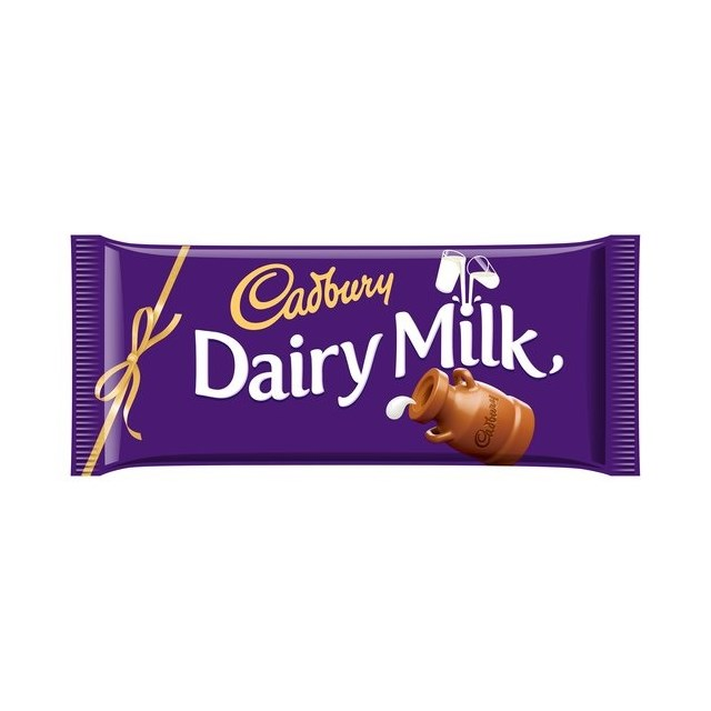 CADBURYS DAIRY MILK CHOCOLATE GIFTING BAR 360g 14 BARS