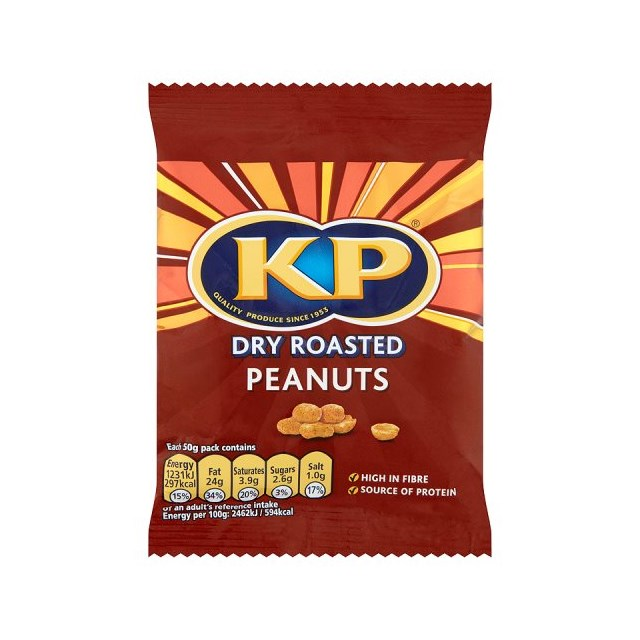 KP DRY ROASTED PEANUTS CARD