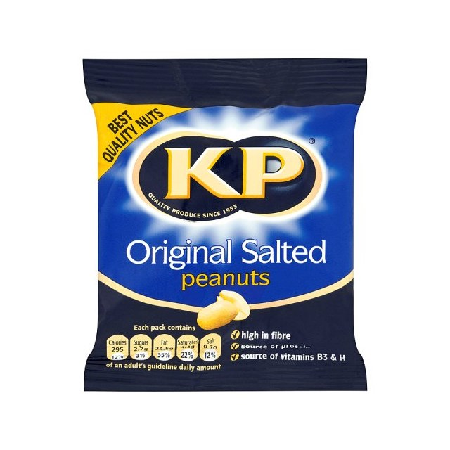 KP SALTED PEANUTS CARD