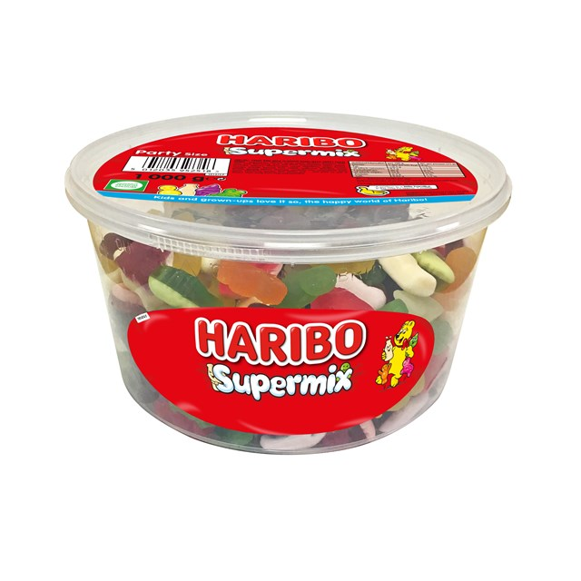 HARIBO TUBS 1KG SUPERMIX