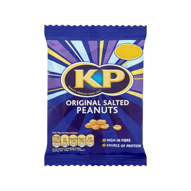 KP £1 SALTED PEANUTS BAG
