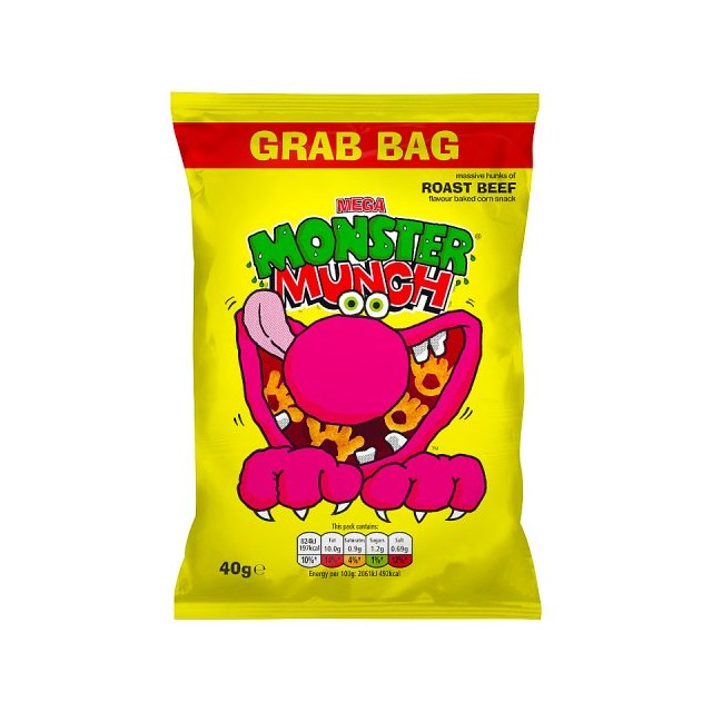 MONSTER MUNCH GRAB ROAST BEEF