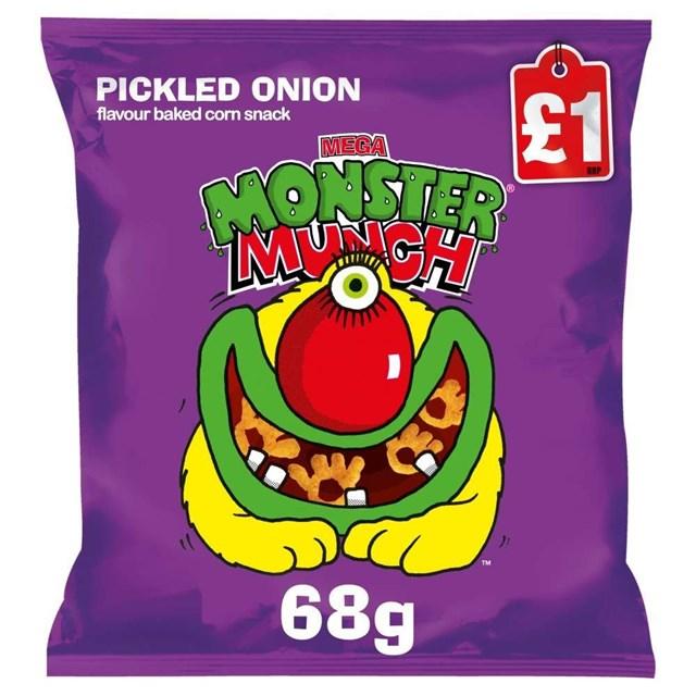 MONSTER MUNCH £1 PICKLED ONION