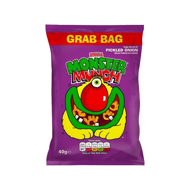 MONSTER MUNCH BIG GRAB BAG PICKLED ONION