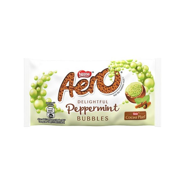AERO BUBBLES BAGS PEPPERMINT