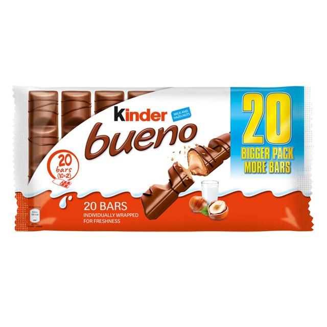 KINDER BUENO 20 PACK (10 x Twin Bars)