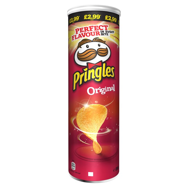PRINGLES ORGINAL 180g £2.99 (6 PACK)