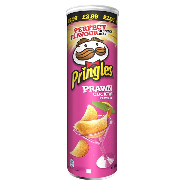 PRINGLES PRAWN COCKTAIL 180G £2.99 (6 PACK)