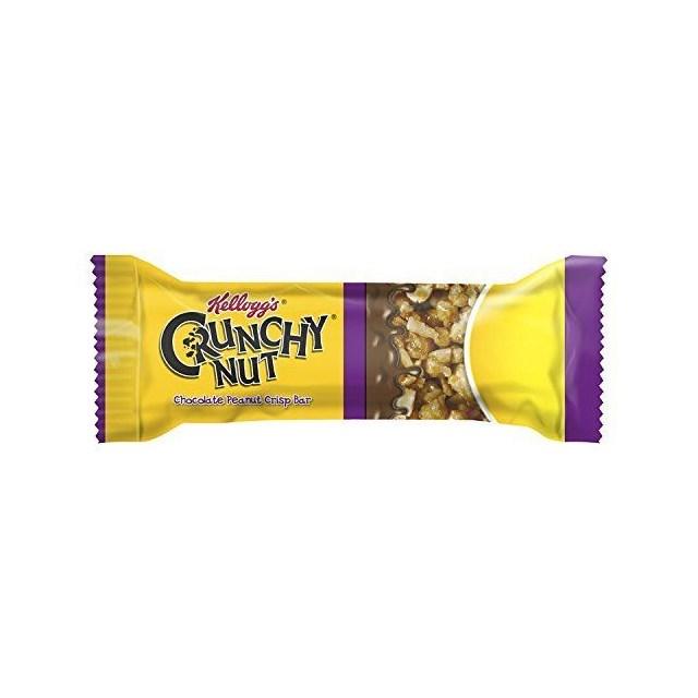 KELLOGGS CRUNCHY NUT BAR PEANUT & CHOCOLATE