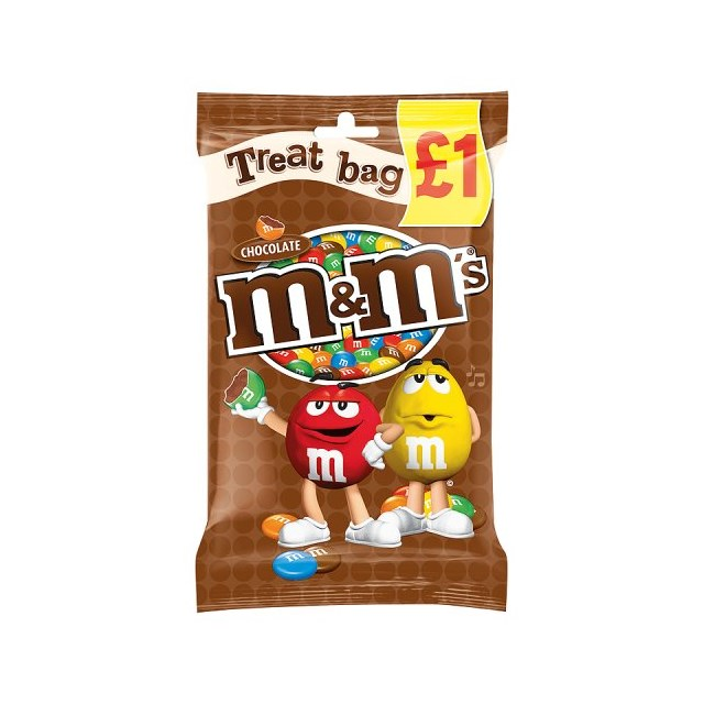 TREAT £1 M&M CHOCOLATE