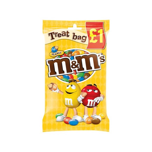 TREAT £1 M&M PEANUT