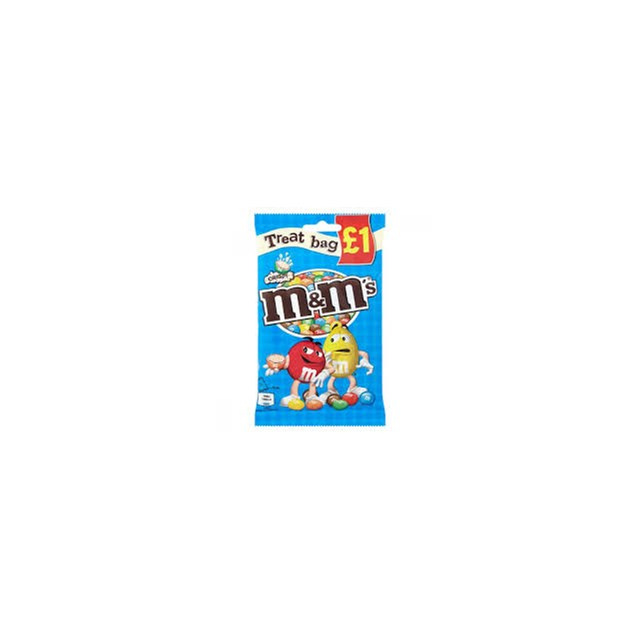 M&M'S CRISPY TREAT BAG 77g £1 (16 PACK)