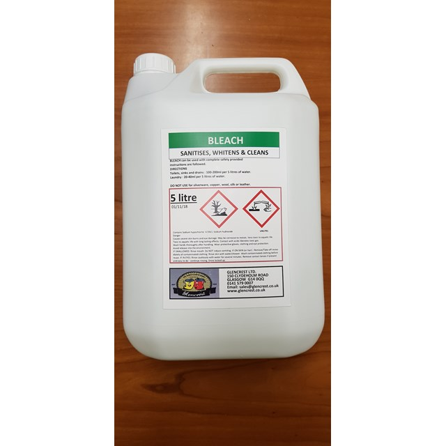 GLENCREST 5L BLEACH