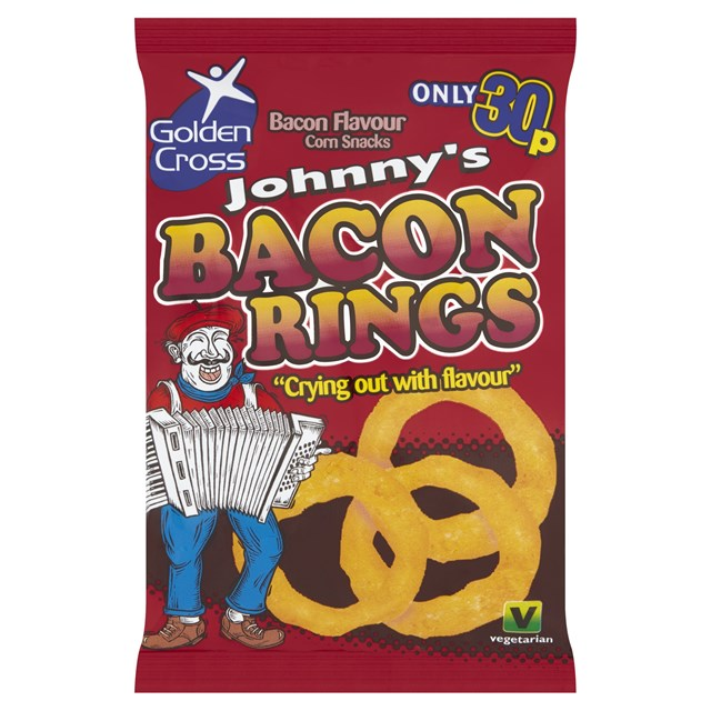 JOHNNYS BACON RINGS 22g 25p (36 PACK)
