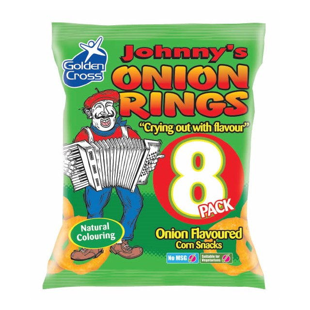 JOHNNYS ONION RINGS (12 x 8 PACK)