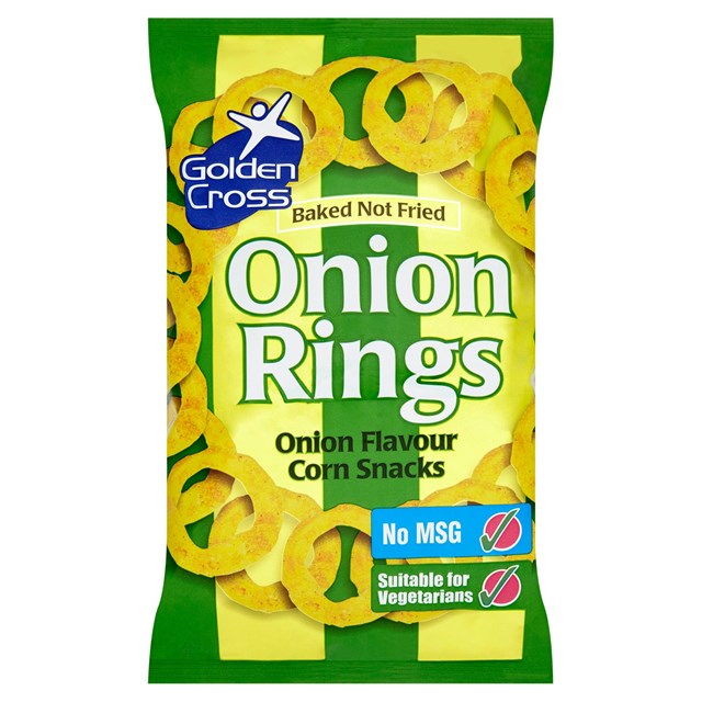 GOLDEN CROSS ONION RINGS 150g (12 PACK)