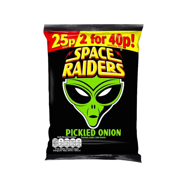 SPACE RAIDERS 25P PICKLED ONION
