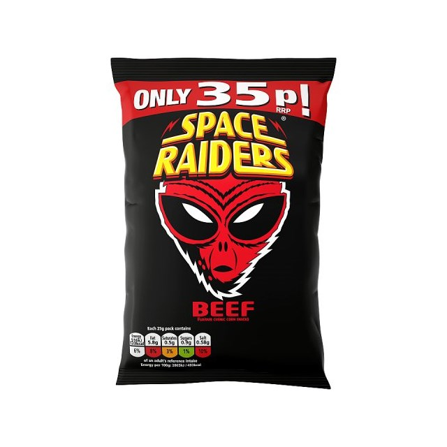 SPACE RAIDERS 30P BEEF