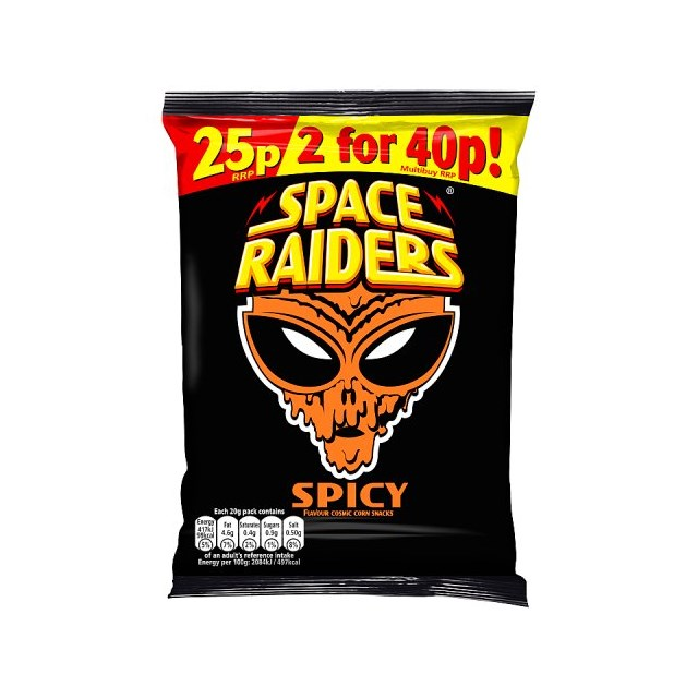 SPACE RAIDERS 25P SPICY