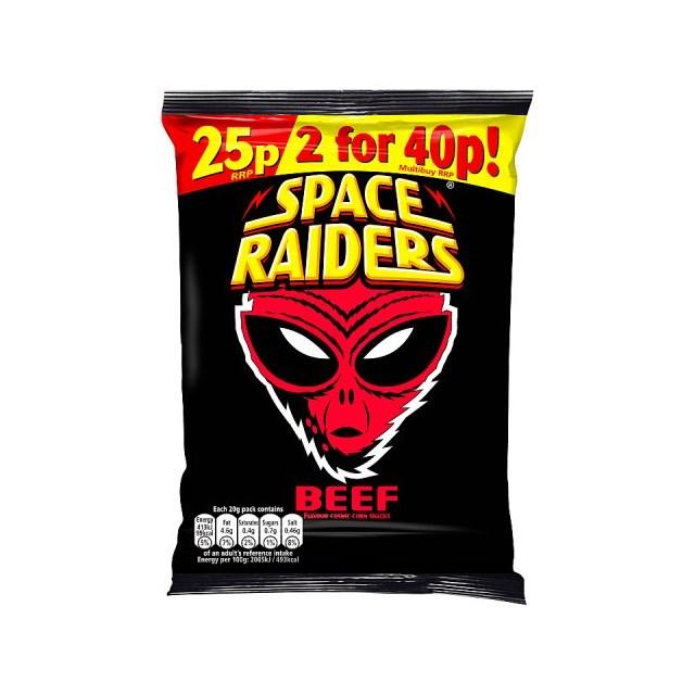 SPACE RAIDERS 25P BEEF