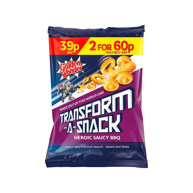 TRANSFORMERS 2 FOR 60P OR 39P SAUCY BBQ