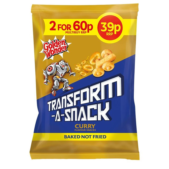 TRANSFORM A SNACK 2 FOR 60P CURRY