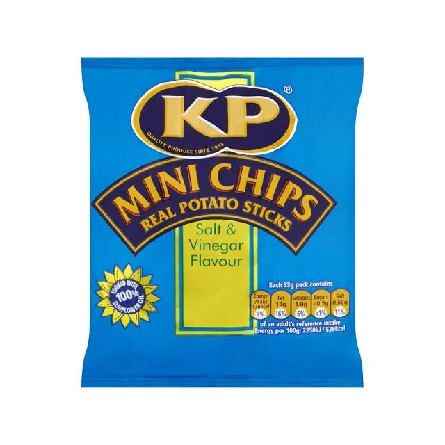 KP MINI CHIPS SALT & VINEGAR
