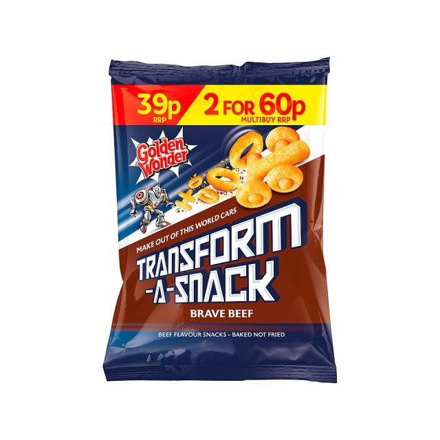TRANSFORMERS 2 FOR 60P OR 39P BEEF