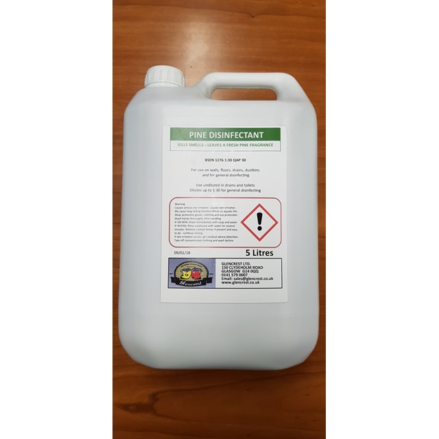 GLENCREST 5L PINE DISINFECTANT