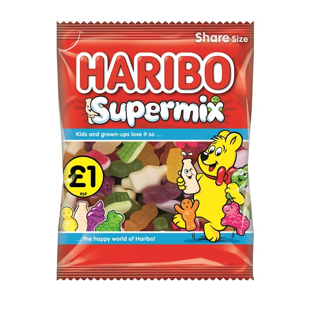 HARIBO £1 BAGS KIDDIES SUPERMIX