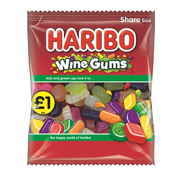 HARIBO £1 WINE GUMS