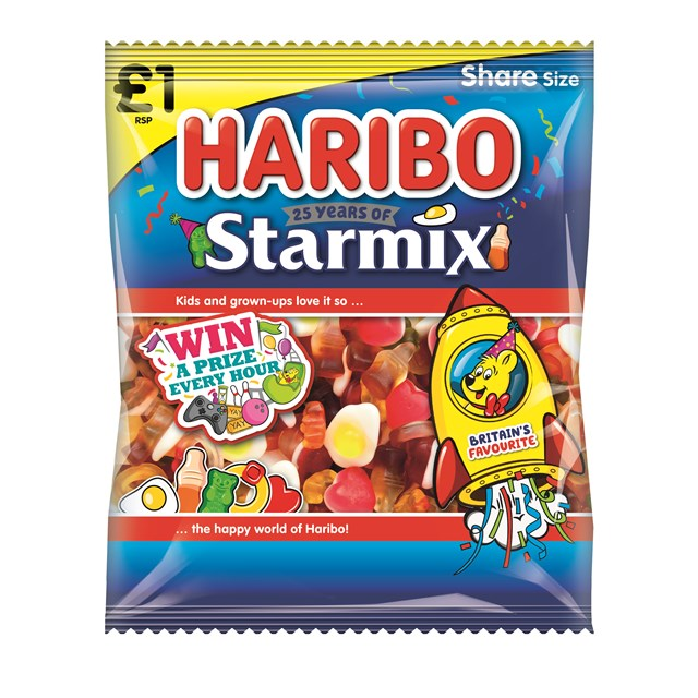 HARIBO £1 BAGS STARMIX