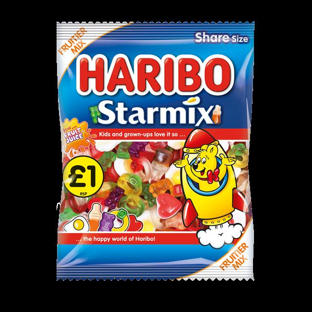 HARIBO £1 STARMIX 160g (12 PACK)