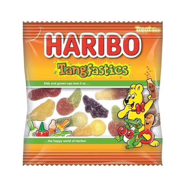 HARIBO TANGFASTICS 100 TREAT BAGS HALLOWEEN