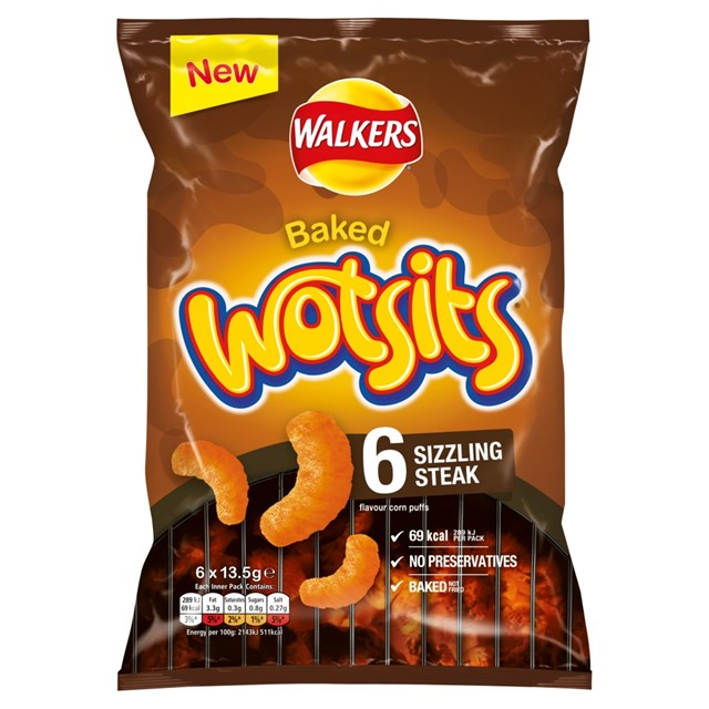 WOTSITS 6PACK SIZZLING STEAK