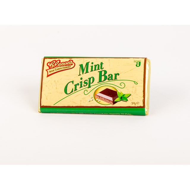 CLEEVES IRISH MINT CRISP BAR