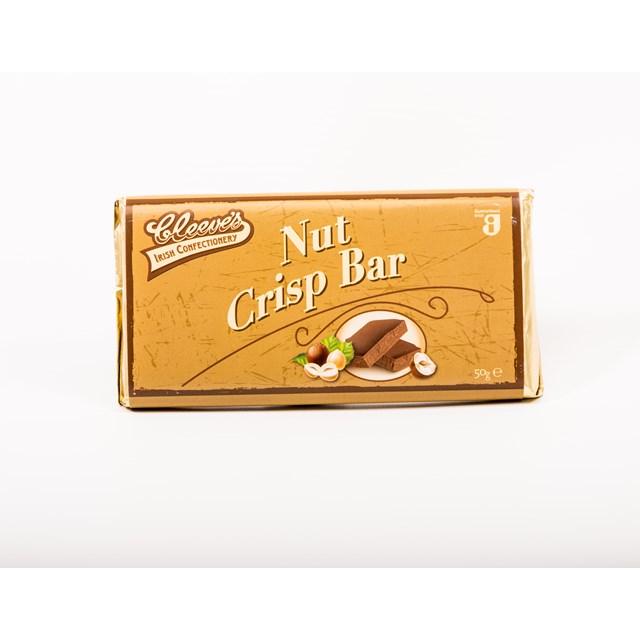CLEEVES IRISH NUT CRISP BAR