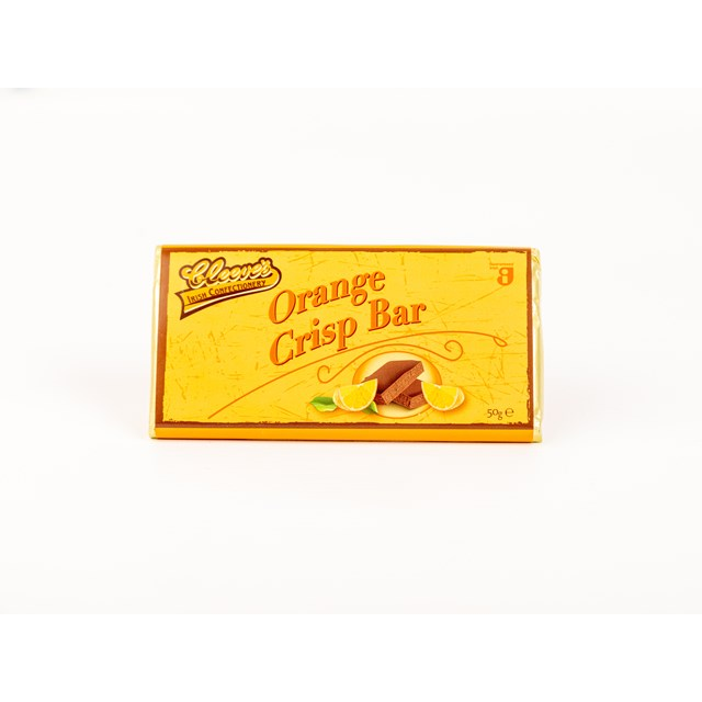 CLEEVES IRISH ORANGE CRISP BAR