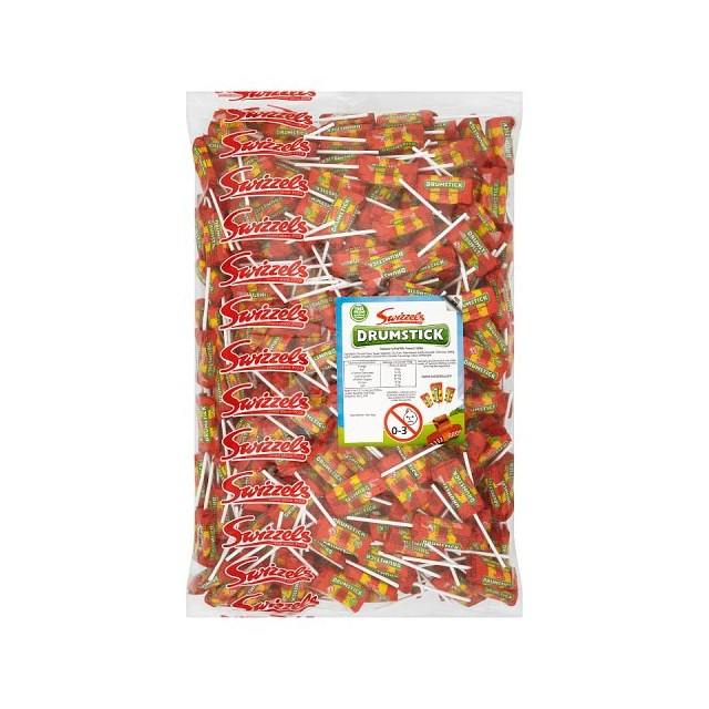 SWIZZELS DRUMSTICK LOLLIES 3kg BAG 28 FEB DATED
