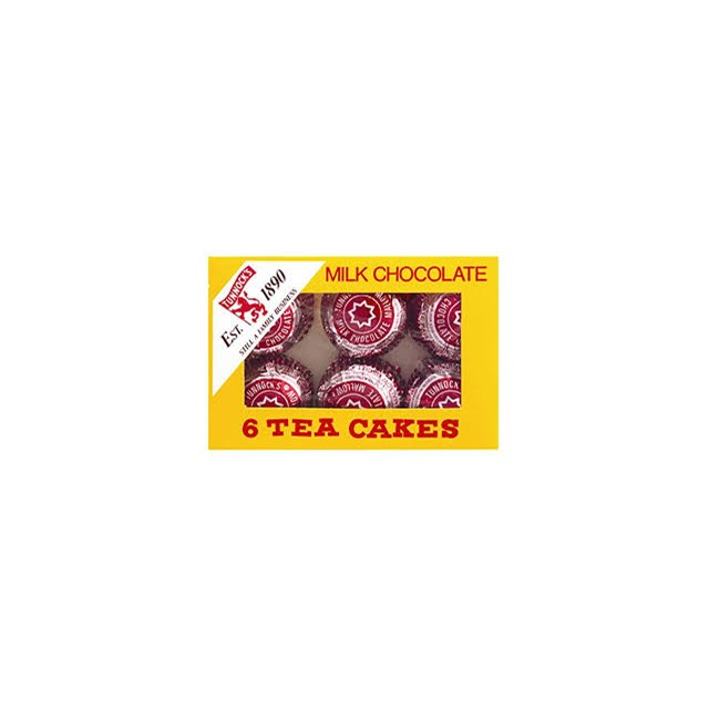 TUNNOCKS MILK TEA CAKES 6 PACK