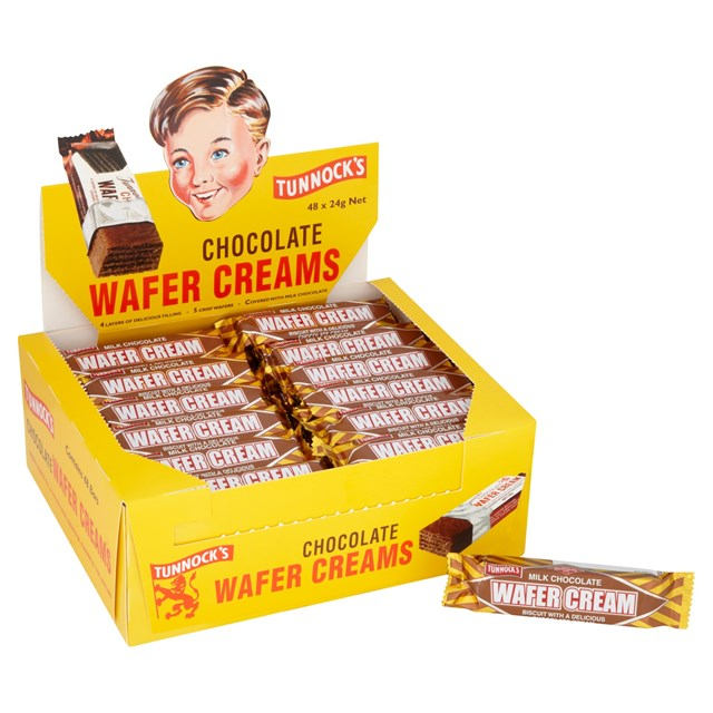 TUNNOCKS WAFER CREAMS