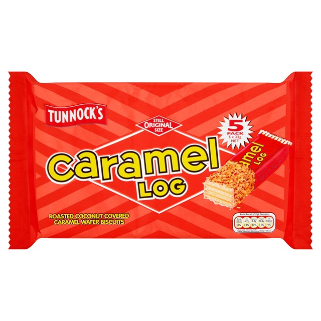 TUNNOCKS 5PACK CARAMEL LOGS