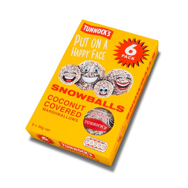 TUNNOCKS 6PACK SNOWBALLS